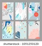 collection of creative... | Shutterstock .eps vector #1051253120
