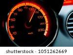 Red Iluminated Speedometer