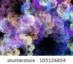 Abstract Floral Fractal....