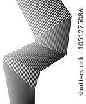 white black color. linear... | Shutterstock .eps vector #1051275086