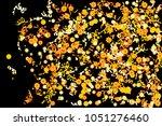 confetti and serpentine  bright ... | Shutterstock .eps vector #1051276460