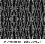 vector seamless geometric... | Shutterstock .eps vector #1051289624