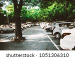 the parking space | Shutterstock . vector #1051306310