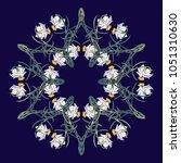 spring flowers. daffodil... | Shutterstock .eps vector #1051310630