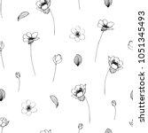Vector Seamless Flower...