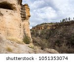 gila cliff dwellings national... | Shutterstock . vector #1051353074