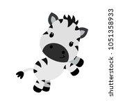 vector cartoon character of... | Shutterstock .eps vector #1051358933