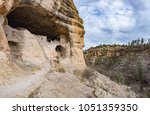 caves  ladder and cliffs of... | Shutterstock . vector #1051359350
