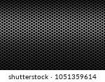metal grid on wide background | Shutterstock . vector #1051359614