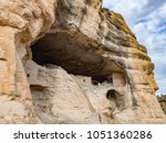 Caves And Cliffs With Ancient...