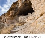 Ancient Cliff Dwelling Ruins At ...