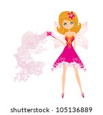 beautiful fairy vector graphic | Shutterstock .eps vector #105136889