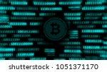 start bitcoin mining. non... | Shutterstock . vector #1051371170
