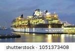 yokohama  japan   october 4 ...   Shutterstock . vector #1051373408