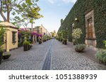 colonial street of tequila in... | Shutterstock . vector #1051388939