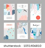 collection of creative... | Shutterstock .eps vector #1051406810
