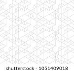 seamless linear pattern with... | Shutterstock .eps vector #1051409018