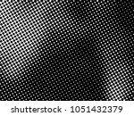 halftone dots pattern .... | Shutterstock .eps vector #1051432379