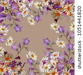 Floral Background.  Bouquet Of...