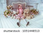 Beautiful Young Woman Doll In A ...