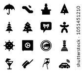 solid vector icon set  ... | Shutterstock .eps vector #1051451210