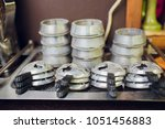 composition with shisha and... | Shutterstock . vector #1051456883