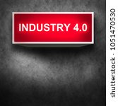 industry 4.0 concept. smart... | Shutterstock . vector #1051470530