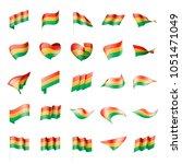 bolivia flag  vector... | Shutterstock .eps vector #1051471049
