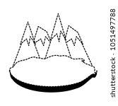 alps peakes icon    Shutterstock .eps vector #1051497788