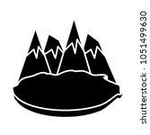 alps peakes icon    Shutterstock .eps vector #1051499630
