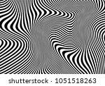 black and white waves. modern... | Shutterstock .eps vector #1051518263