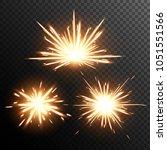 sparkler  effect vector....   Shutterstock .eps vector #1051551566