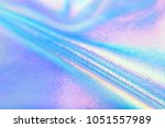 bright real holographic foil... | Shutterstock . vector #1051557989