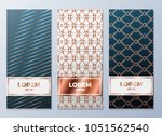 design templates for flyers ... | Shutterstock .eps vector #1051562540