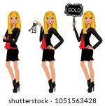 realtor avatar   clip art  ... | Shutterstock .eps vector #1051563428