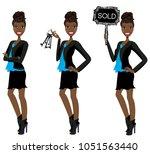 realtor avatar   clip art  ... | Shutterstock .eps vector #1051563440