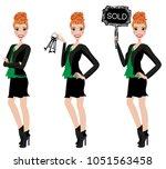 realtor avatar   clip art  ... | Shutterstock .eps vector #1051563458