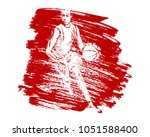 vector grunge background with... | Shutterstock .eps vector #1051588400