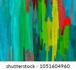 oil painting on canvas handmade.... | Shutterstock . vector #1051604960