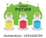 simple flat game icon design... | Shutterstock .eps vector #1051626704
