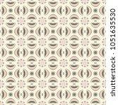 decorative hand drawn seamless... | Shutterstock .eps vector #1051635530