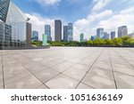 panoramic skyline and buildings ... | Shutterstock . vector #1051636169