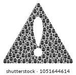 risk symbol mosaic constructed...   Shutterstock .eps vector #1051644614