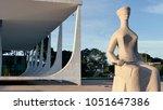 brasilia df  brazil.circa... | Shutterstock . vector #1051647386