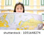 travel guide  tourism in asia ... | Shutterstock . vector #1051648274