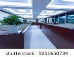 plants in modern office interior   Shutterstock . vector #1051650734