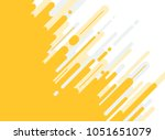 abstract yellow and gray... | Shutterstock .eps vector #1051651079