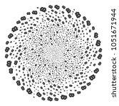 baht spiral sphere. element...   Shutterstock . vector #1051671944