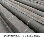 hdpe sheet roll for biogas... | Shutterstock . vector #1051675589