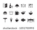 icon food  vector | Shutterstock .eps vector #1051703993